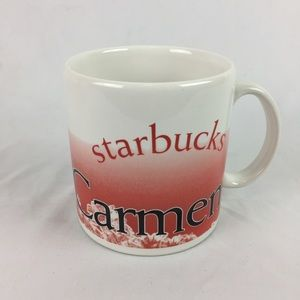 STARBUCKS   Playa del Carmen coffee cup mug